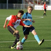 Feyenoord B1   B2 zaterdag bij Alphense Boys
