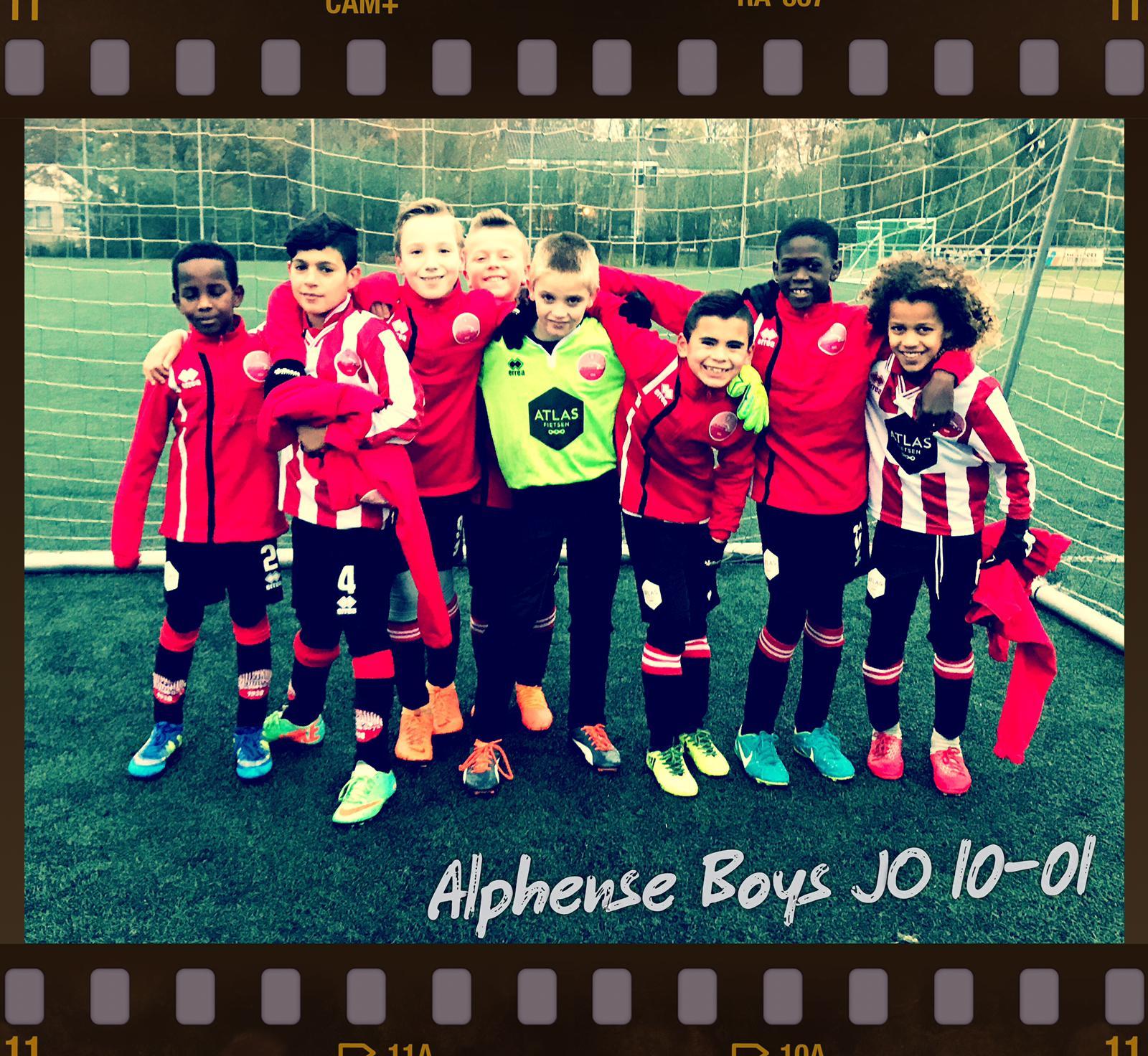 4 doelpunten voor de JO10-1 tegen Moordrecht