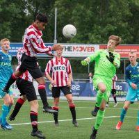 Alphense Boys o14 wint van Sparta o14