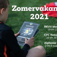 Olympische Voetbal- en Waterspelen bij Alphense Boys